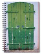The Green Door Spiral Notebook