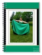 The Green Dress Spiral Notebook