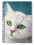 The Green Eyed Vamp Spiral Notebook