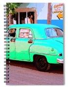 The Green Hornet Spiral Notebook