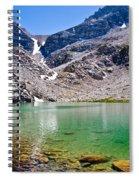 The Green Of Treasure Lake 3  Spiral Notebook