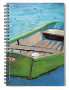 The Green Rowboat Spiral Notebook
