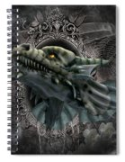 The Grey Dragon Spiral Notebook