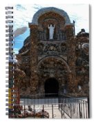 The Grotto Of Redemption In Iowa Spiral Notebook