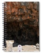 The Grotto Of The God Pan Spiral Notebook
