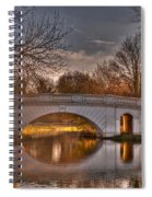 The Grove Bridge On The Grand Union Canal  Spiral Notebook