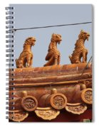 The Guardians Of The Forbidden City Spiral Notebook