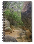The Guide To The Bath Virgin Gorda Island Spiral Notebook