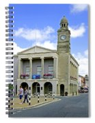 The Guild Hall At Newport Spiral Notebook
