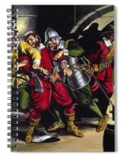 The Gunpowder Plot Spiral Notebook