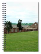 The Gym At Sweet Briar Spiral Notebook