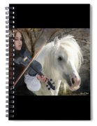 The Gypsy Violin Spiral Notebook