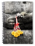 The Hand Of Buddha Spiral Notebook