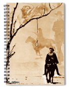 The Hangman's Tree Spiral Notebook