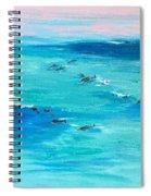 The Happy Beach Spiral Notebook