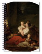 The Happy Family Spiral Notebook