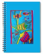 The Happy Fishes Spiral Notebook