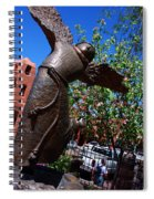 The Happy San Francis Spiral Notebook