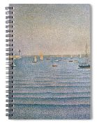 The Harbour At Portrieux Spiral Notebook