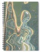 The Harp Player Spiral Notebook