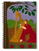 The Harpist Spiral Notebook