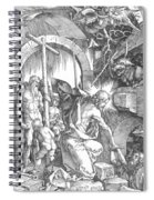 The Harrowing Of Hell Or Christ In Limbo From The Large Passion 1510 Spiral Notebook