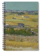 The Harvest Arles  June 1888 Vincent Van Gogh 1853  1890 Spiral Notebook