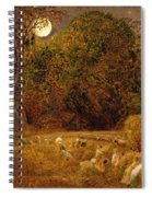 The Harvest Moon Spiral Notebook