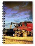 The Harvest Run Spiral Notebook
