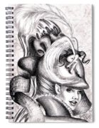 The Hat Spiral Notebook