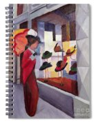 The Hat Shop Spiral Notebook
