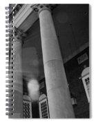 The Haunted Auditorium Spiral Notebook