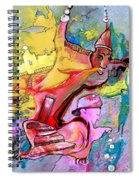 The Haunted House Spiral Notebook