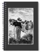 The Hayymaker Camille Pissarro Spiral Notebook