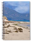 The Hazards From The Beach Spiral Notebook