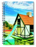 The Hazmat Water Park Spiral Notebook