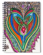 The He And She Together Spiral Notebook
