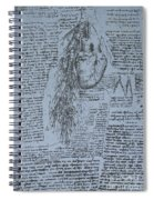 The Heart And The Bronchial Arteries Spiral Notebook