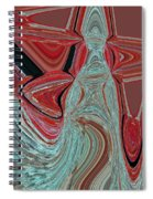 The Heart Is The Key Spiral Notebook