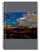The Heart Of Cave Creek Spiral Notebook