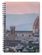 The Heart Of Florence Italy Spiral Notebook