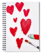 The Heart Of Love Spiral Notebook