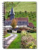 The Heart Of Normandy Spiral Notebook