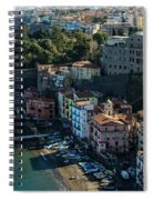 The Heart Of Sorrento Spiral Notebook