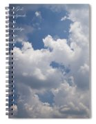 The Heavens Declare The Glory Of God Spiral Notebook