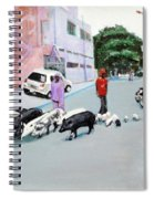 The Herd 5 - Pigs Spiral Notebook