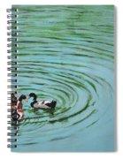 The Herd Series - Duck Meet Spiral Notebook