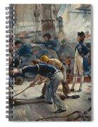 The Hero Of Trafalgar Spiral Notebook