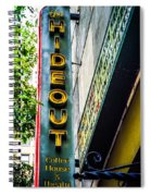 The Hideout Spiral Notebook
