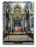 The High Altar In Salisbury Cathedral Spiral Notebook